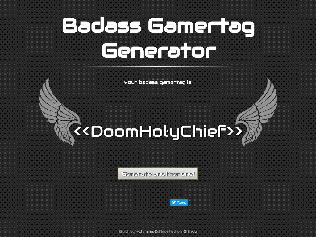 Gamertag Generator The Best Gamertag Generator for PS4 and