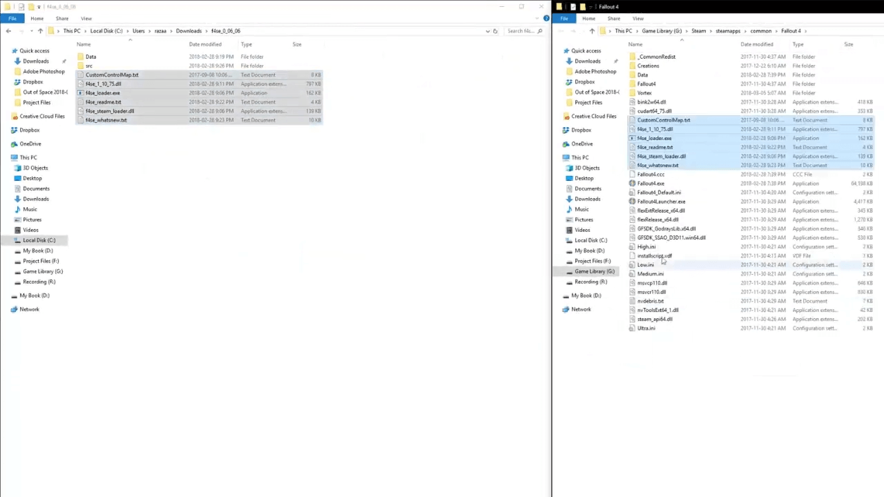 Fo4Edit Install Vortex / Fo4edit is in the fallout folder that was just me experimenting, i'll probably put it back in my c drive.