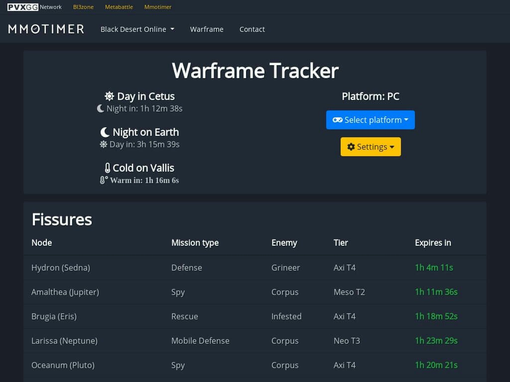 warframe-tracker