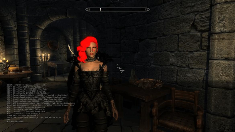 commands ebony console ingot Skyrim
