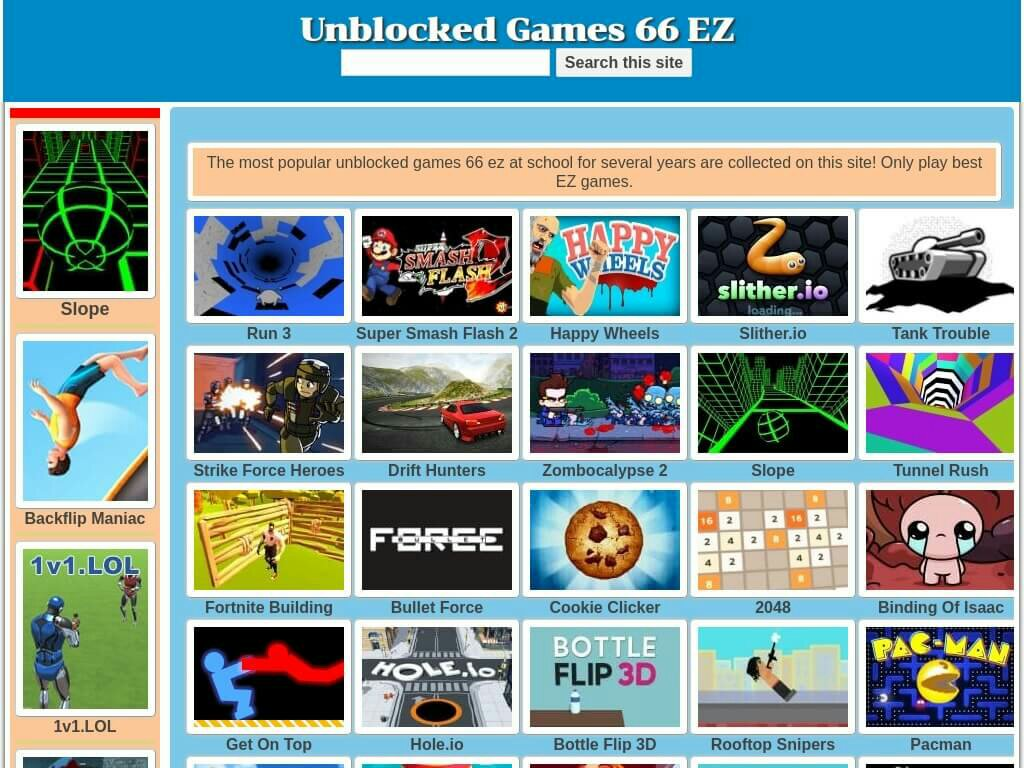 unblocked-games