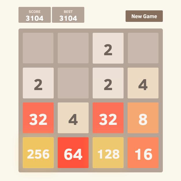 2048 oool math games