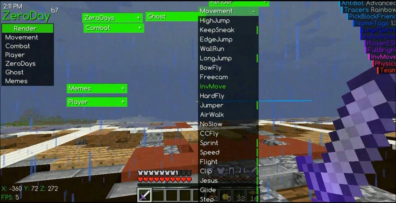 Minecraft-hack