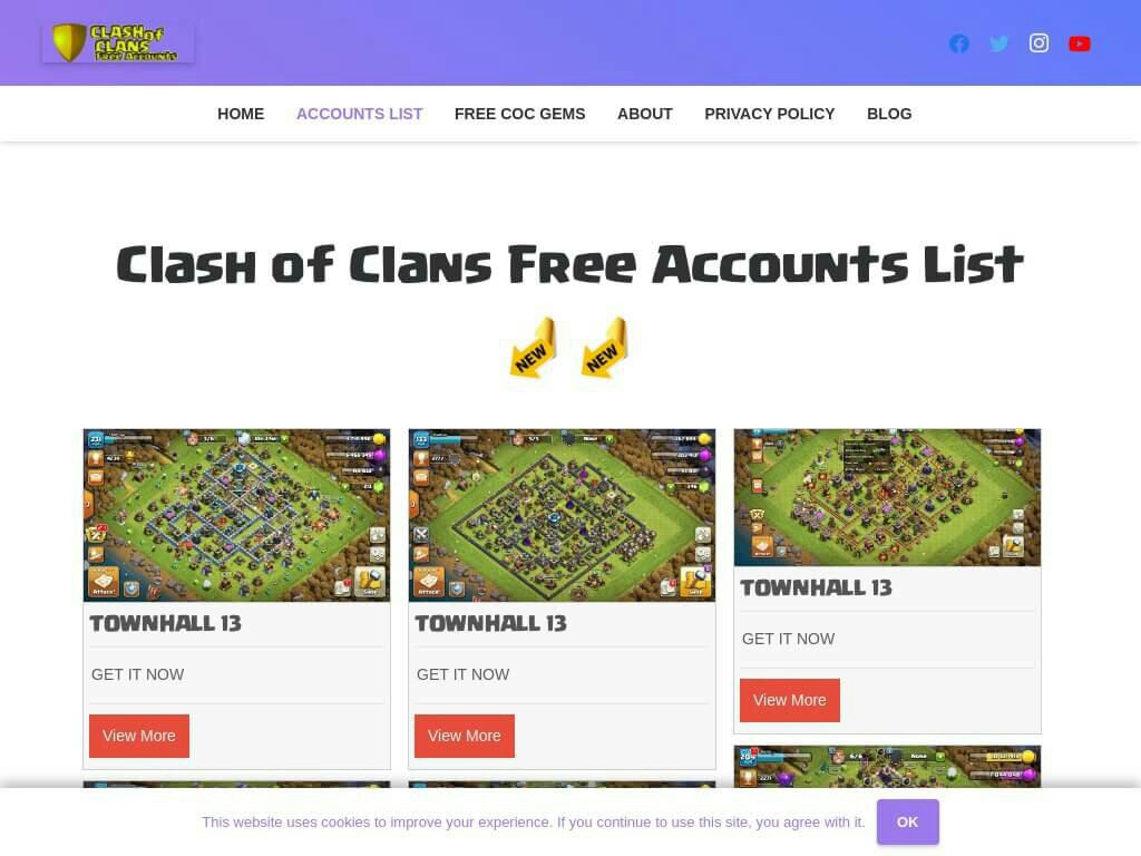 free-clash-of-clans-account