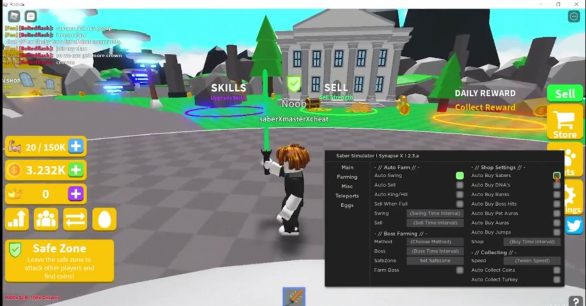 saber-simulator-script